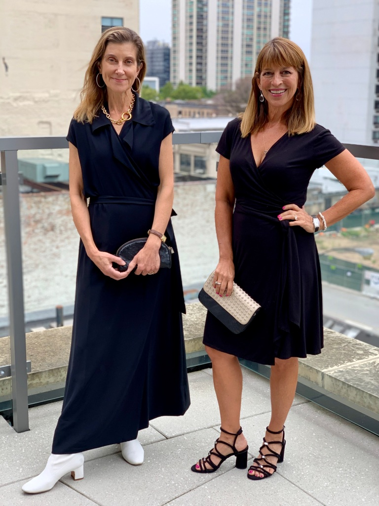 Laura and Marjie styled three LBDs